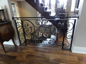 wrought iron railings toronto